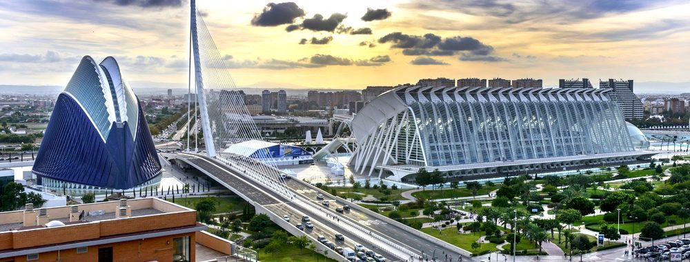 The City of the Arts and Sciences, Valencia สเปน
