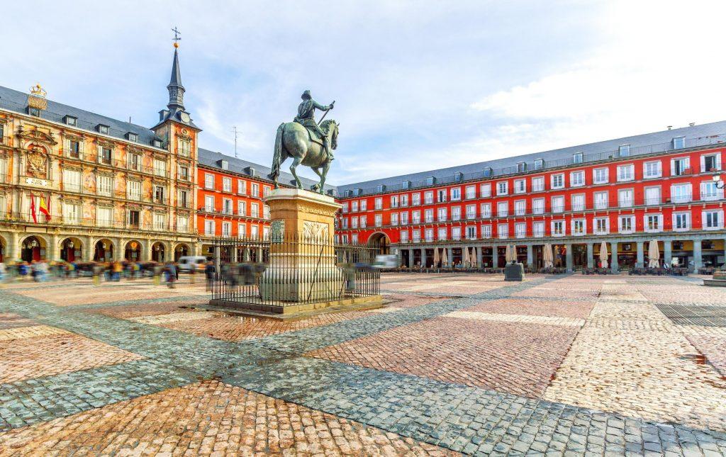 Plaza Mayor : มาดริด